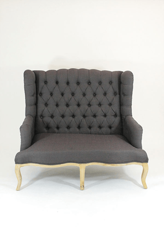 Chair Grey Tufted Sofa