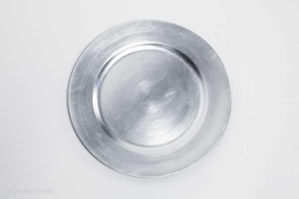 Charger Plate Silver