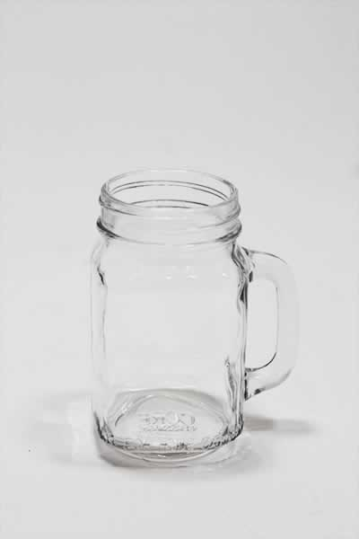 Glassware Mason Jar With Handle