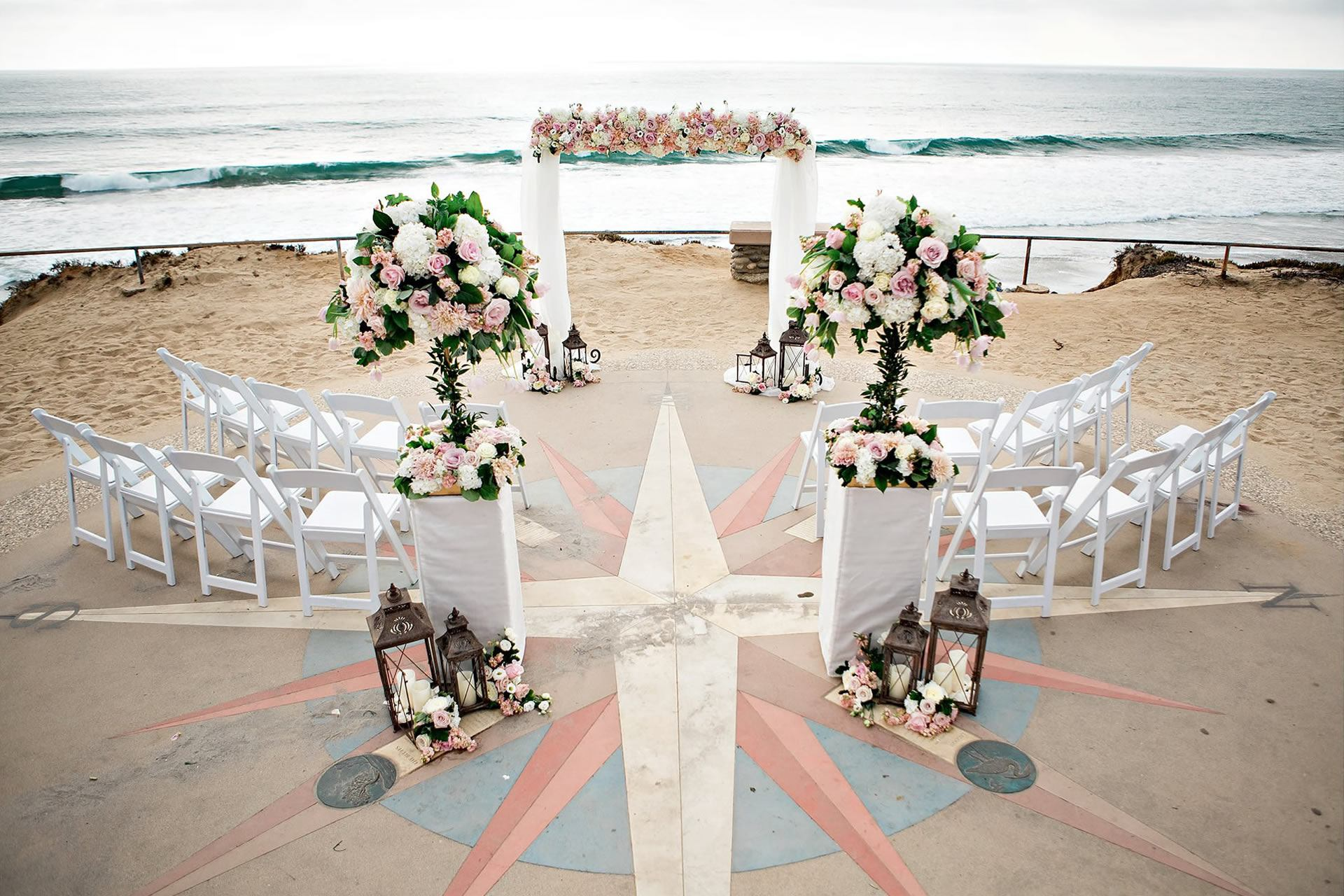 Beach Wedding Crown Rentals