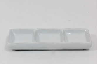 China 3 Compartment Dish